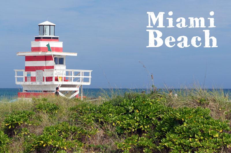Miami Beach -Lifeguard hut