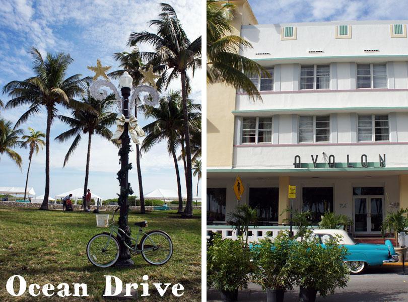 Ocean Drive - Miami Beach - Art Deco