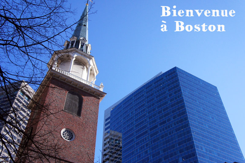 Bienvenue à Boston