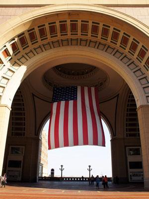 Drapeau américain Boston