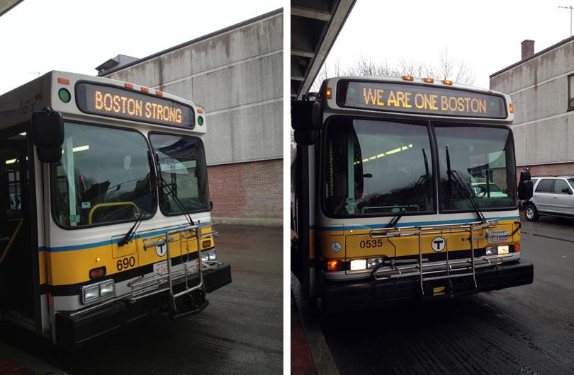 Bus - Boston strong - Photo de Maïté