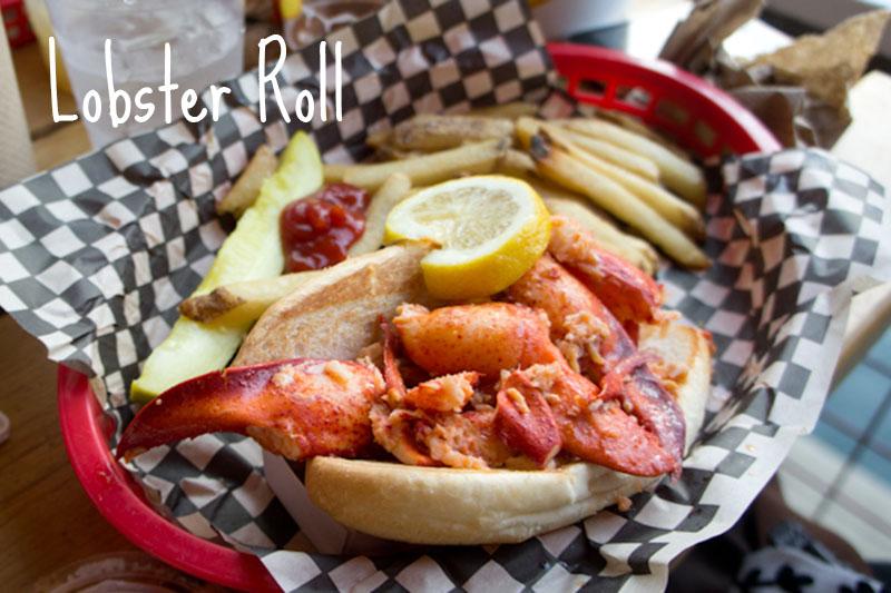 Lobster Roll Barking Crab Boston