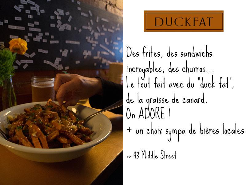 Duck Fat, Portland