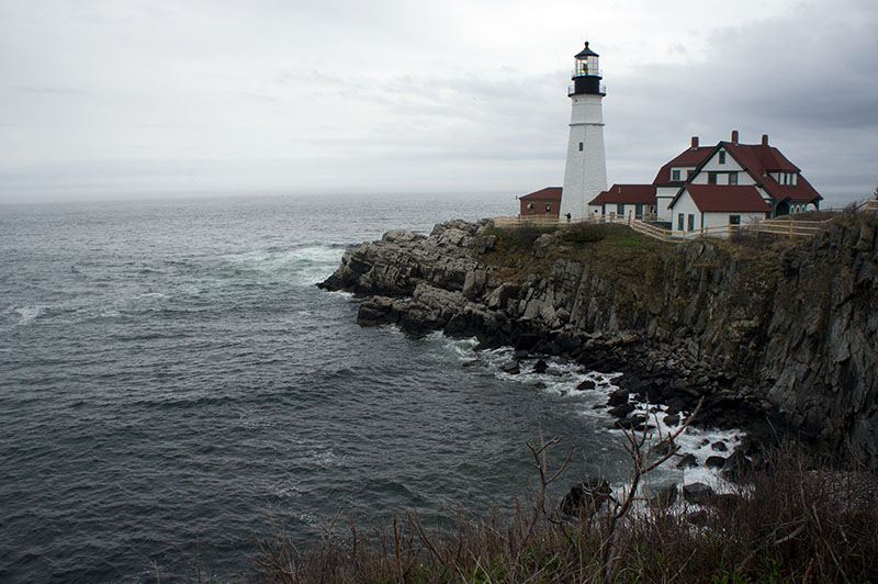 Le phare de Portland, Maine