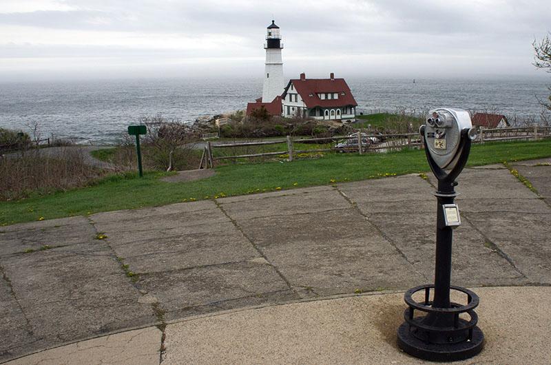 Le phare de Portland, Maine 2