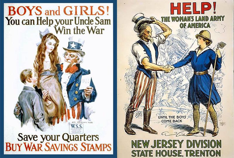 Uncle Sam - Vintage Poster