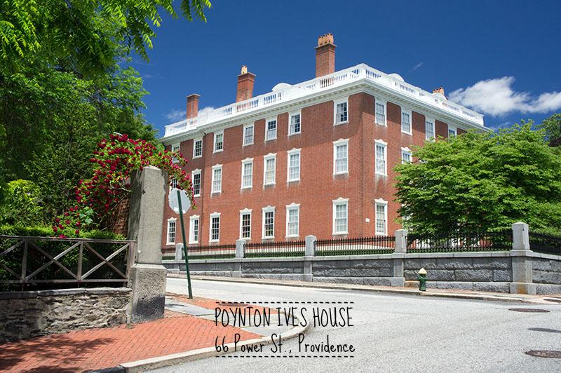 Brown university, Providence, Rhode Island - Power street