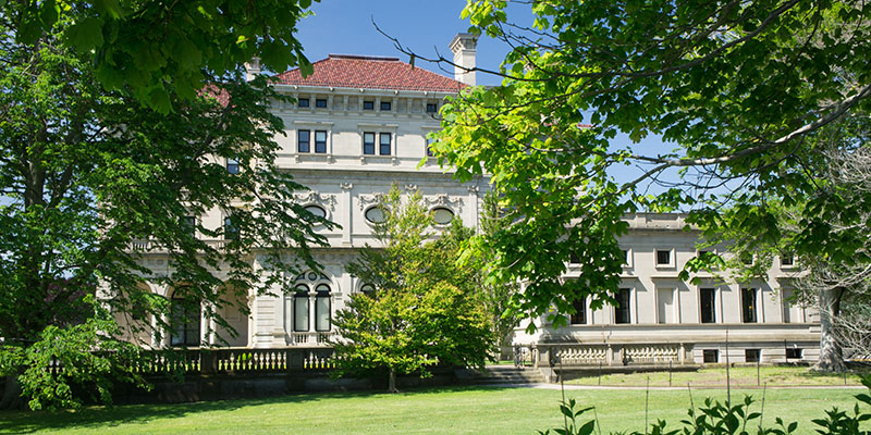 Mansion, Bellevue Avenue, Newport, Rhode Island
