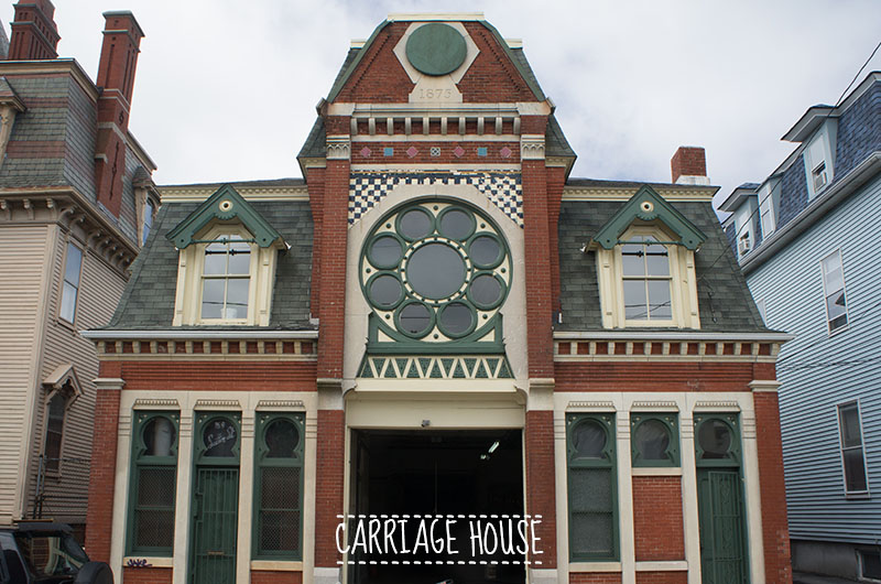 Carriage House, Broadway, Providence, Rhode Island