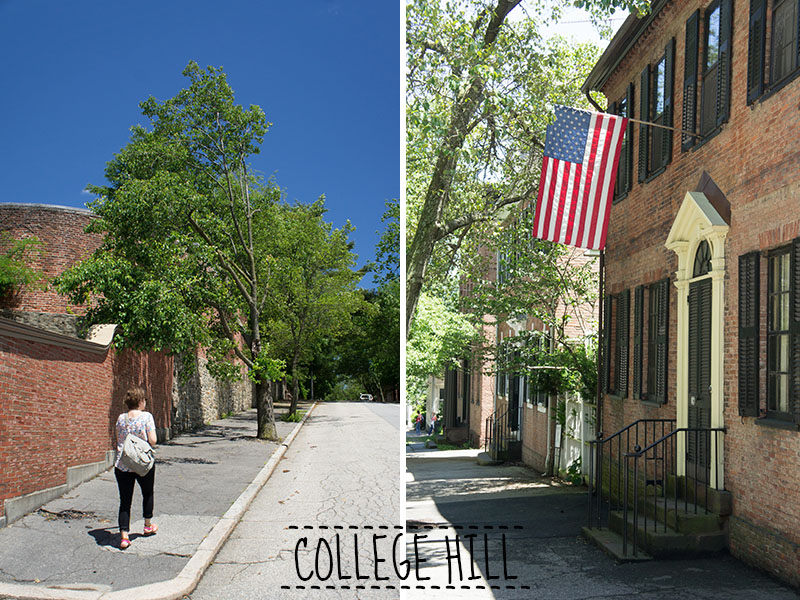 Brown university, Providence, Rhode Island - College Hill