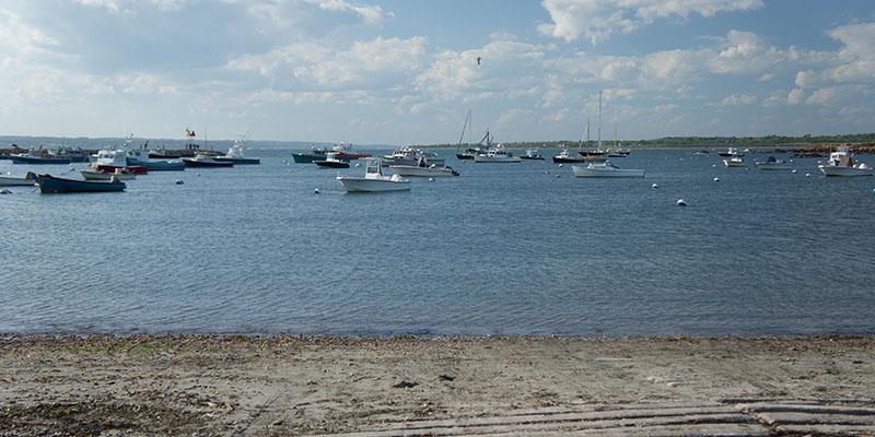 Boats, Ocean, Rhode Island