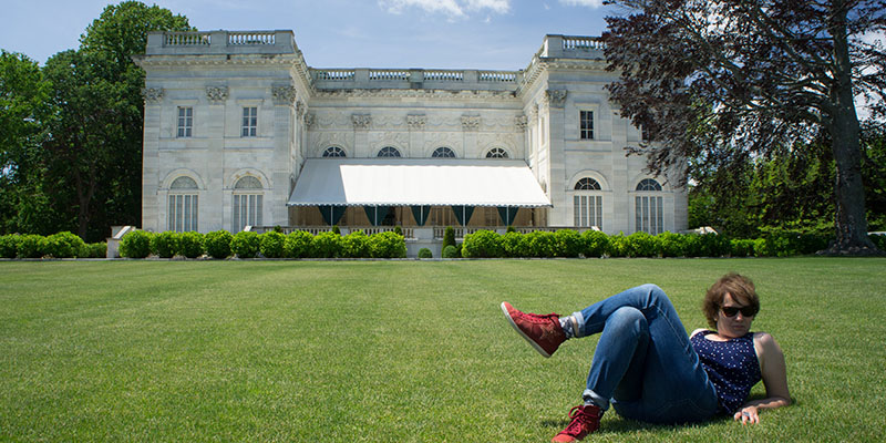 Mathilde - Marble House, Newport, Rhode Island