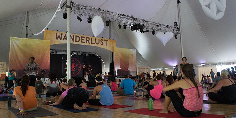 Wanderlust yoga festival Vermont
