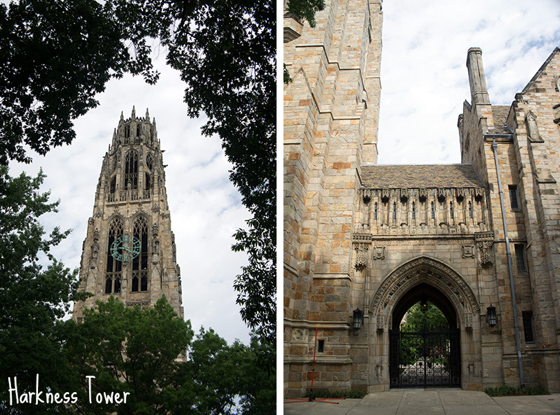Yale University New Haven Harkness Tower