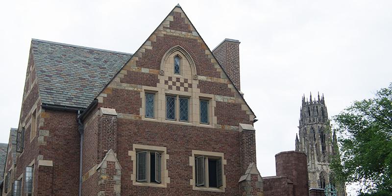 Une visite de la superbe yale university le blog usa de for Architecture neo gothique