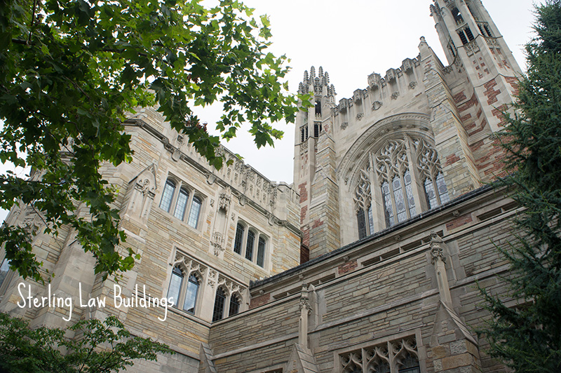 Law buildings Yale University