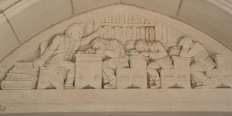 Sculptures Yale University 3