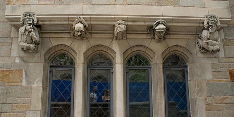 Sculptures Yale University 4