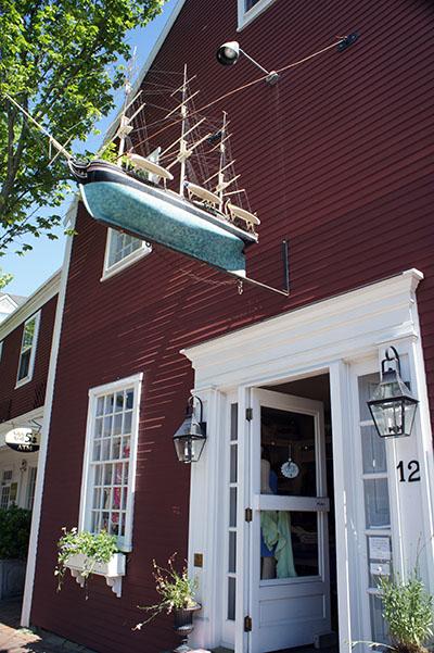 Boutique et bateau - Nantucket
