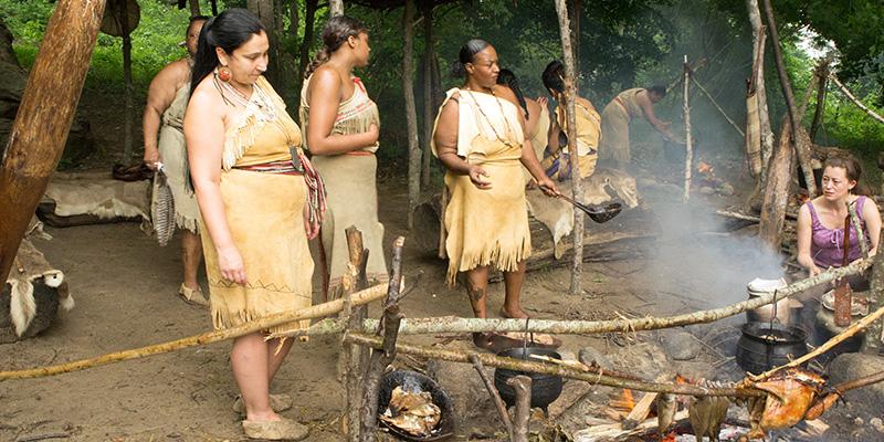 Plimoth Plantation - Native American Village