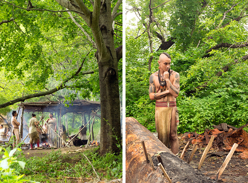 Plimoth Plantation - Native American Village 1