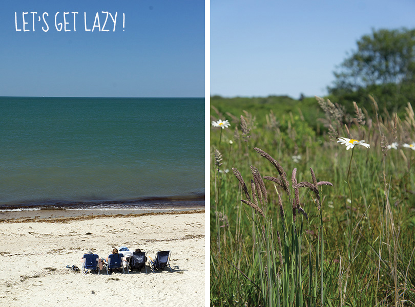 Let's get Lazy - Beach Nantucket