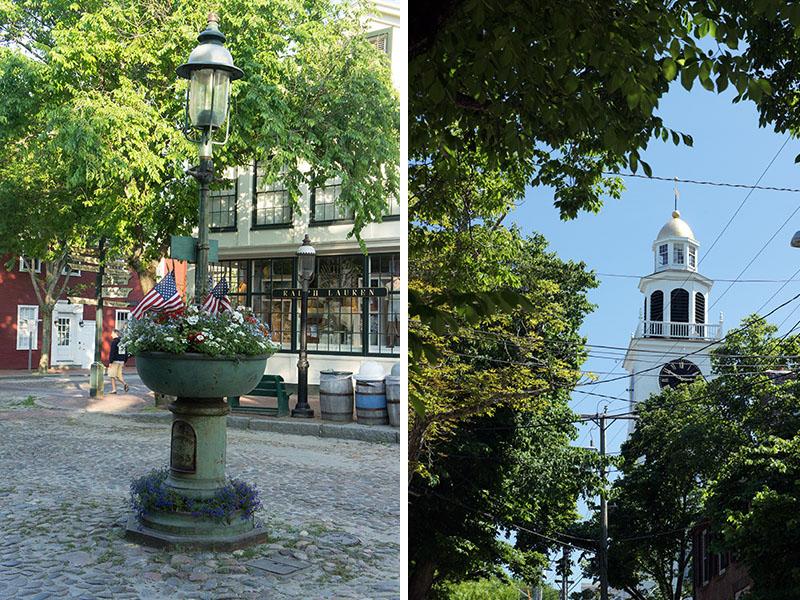 Nantucket le centre ville historique