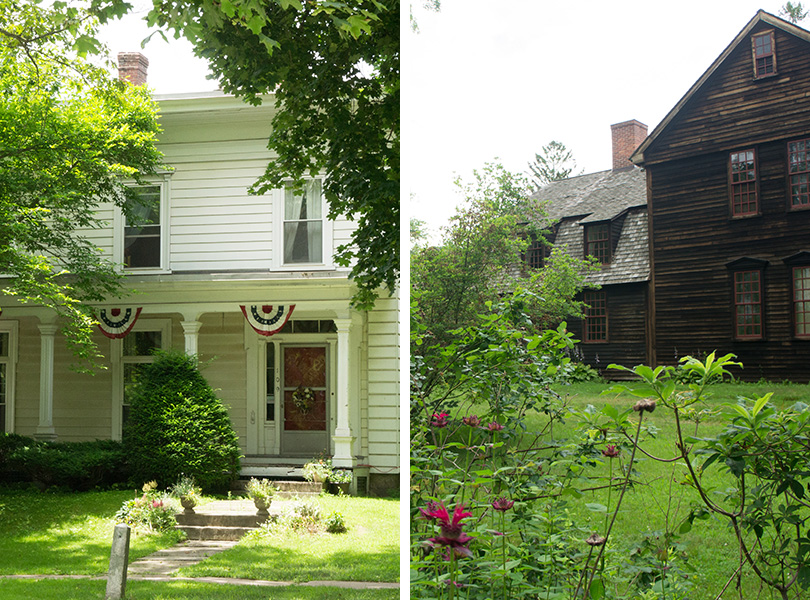 Houses in Historic Deerfield