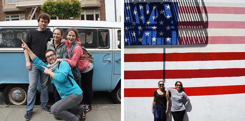 Road trip entre amis - San Francisco