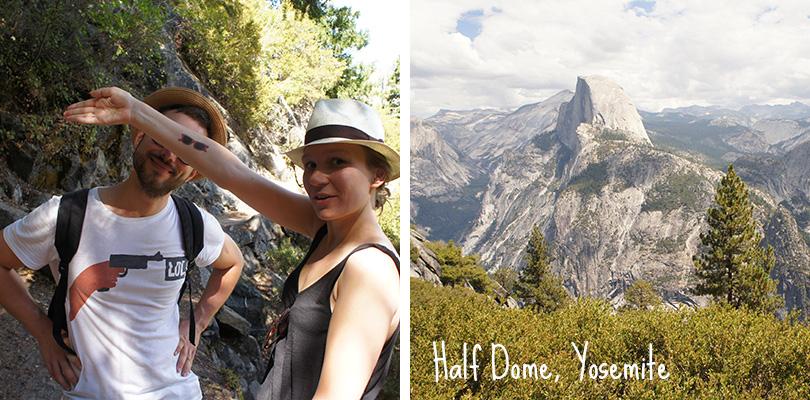 Road trip entre amis - Yosemite