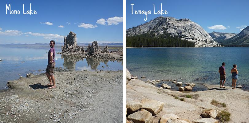 Road trip entre amis - Yosemite et Mono Lake