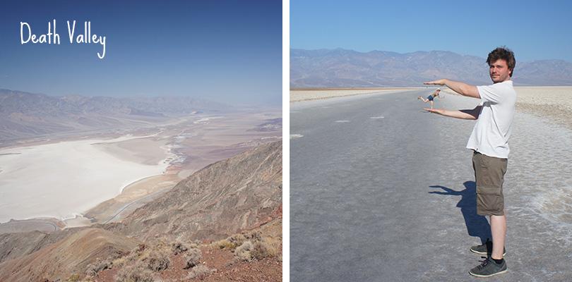 Road trip entre amis - Death Valley