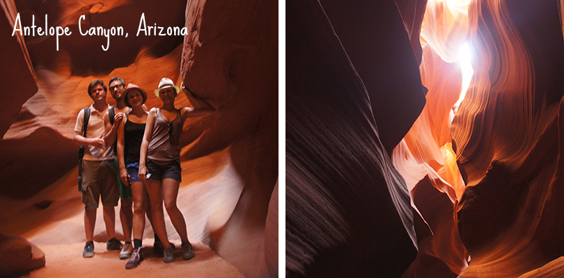 Road trip entre amis - Antelope Canyon