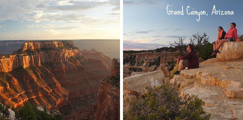 Road trip entre amis - Grand Canyon