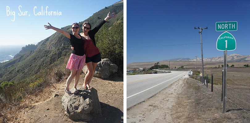 Road trip entre amis - Route 1 California