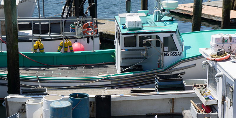 Bateau de pêcheurs, Gloucester MA