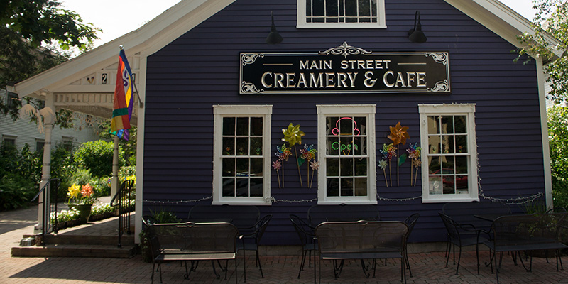 Historic Wethersfield, CT Ice cream