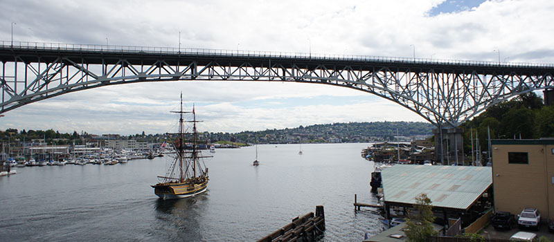 Fremont Seattle bridge