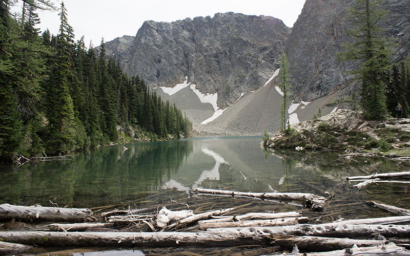 Blue Lake - North Cascades National Park