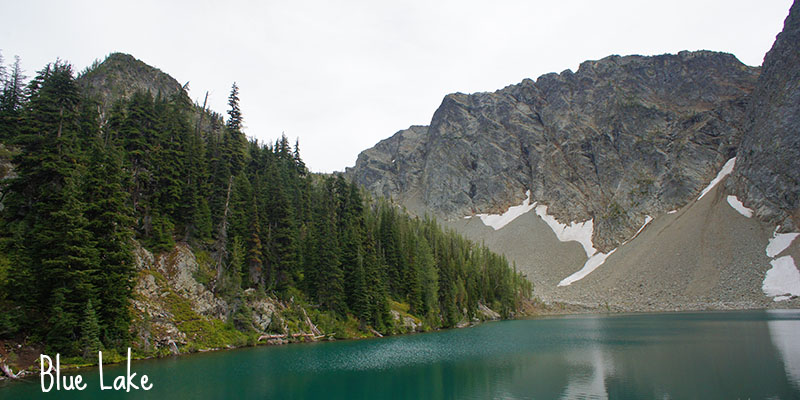 Blue Lake - North Cascades National Park 1