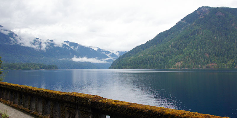 Crescent Lake - Olympic National Park
