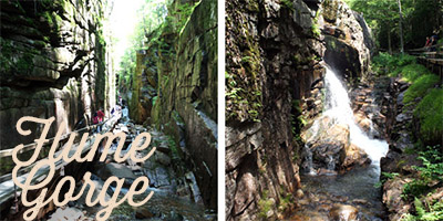 flume gorge - White Mountains -
