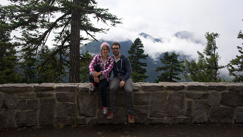 Mathilde et Manu - Hurricane Ridge - Olympic National Park