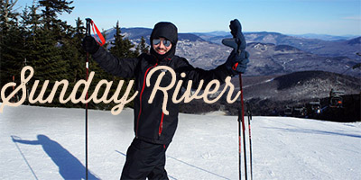 sunday river skier dans le maine