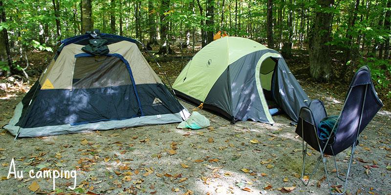 Camping New Hampshire