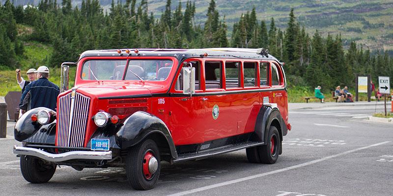 Bus - Glacier National Park