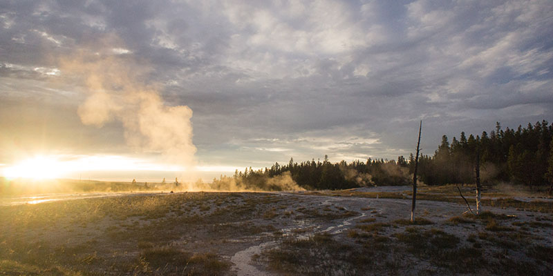 Firehole Canyon Drive - Yellowstone National Park