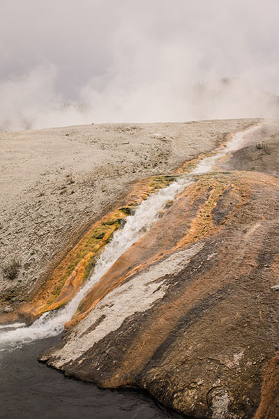 Hot springs - Yellowstone National Park