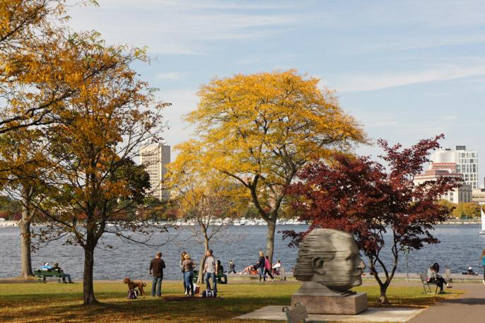 L'automne à Boston - l'été indien 1