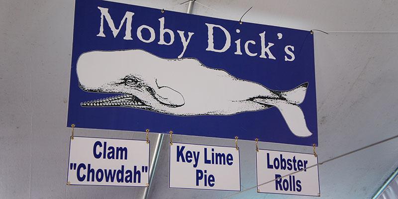 Oyster Fest WellFleet, Cape Cod Moby Dick